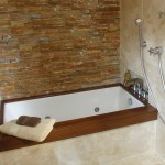 54 x 30 White Soaking Tub