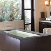Undermount Heated Soaking Bath Tub