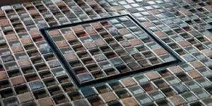 Moasic Tile StyleDrain Tile