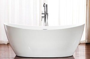 Double Slipper Tub with Modern Styling