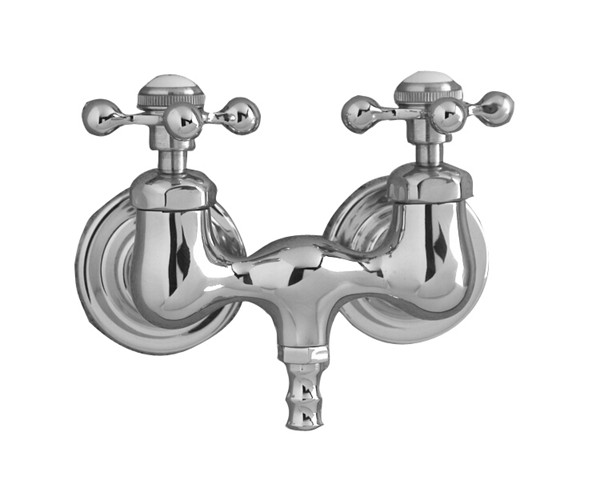 mixer wall filler shower style clawfoot category tub brass cross hand bathroom telephone chrome mounted attractive faucets amazing claw tap two polished with regarding bath mount valve faucet handles