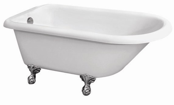 54 inch freestanding tub. Barclay Alexia  54 Acrylic Roll Top ADR7H53 WH ADRNTD53 53 63 Inch Freestanding Bathtub Continued 2