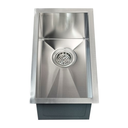 Matte Finish; Modern Rectangle Bar Sink
