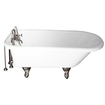 White Anthea with Chrome 4202-MC Faucet