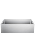Single Bowl, Stainless Steel Kitchen Sink with Smooth Front Apron