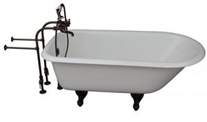 Clawfoot Tub, Freestanding Faucets