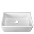 Single Bowl, Smooth Apron, Fire Clay Kitchen Sink