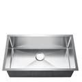 Rectangle Stainless Kitchen Sink with Center Drain