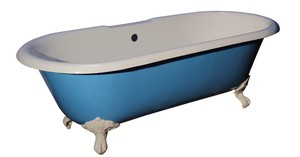 Duet Bath Painted Robotic Blue