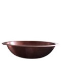 Copper Oval Sink with Flat Rim