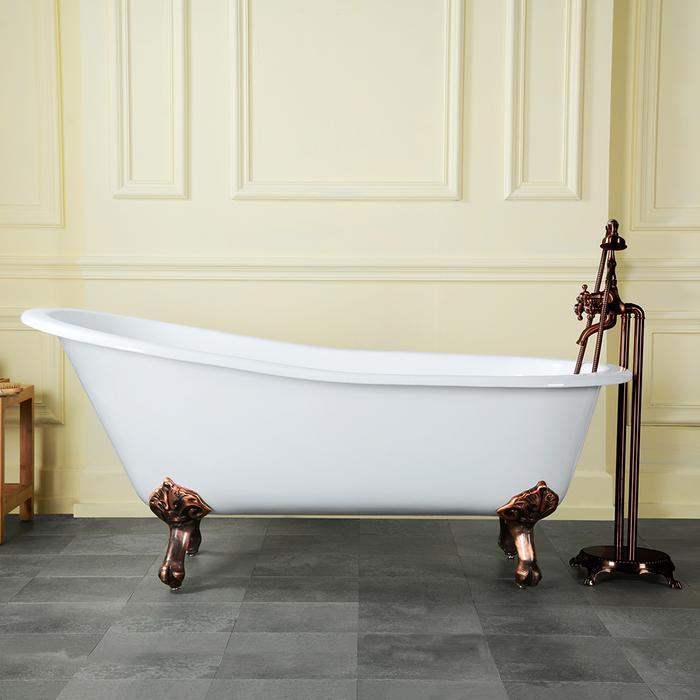 100 5 foot cast iron bathtub cast iron tubs cast iron clawf