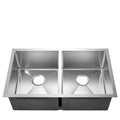 50/50 Stainless Steel Undermount Sink