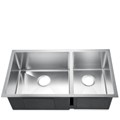 60/40 Stainless Steel Undermount Sink
