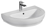 Rectangle Sink with Rectangle Basin, Shown with Single Hole Faucet