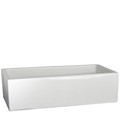 Single Bowl Farm Sink, Smooth Apron