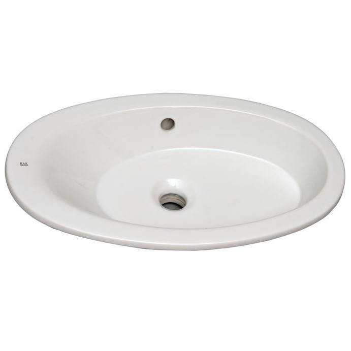 Oval Undermount Sink with Offset Bottom