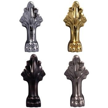 Chrome, Brass, Oil Rubbed Bronze or Nickel Feet