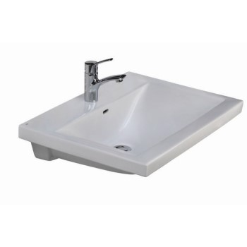 Mistral Sink Shown with Single Hole Faucet