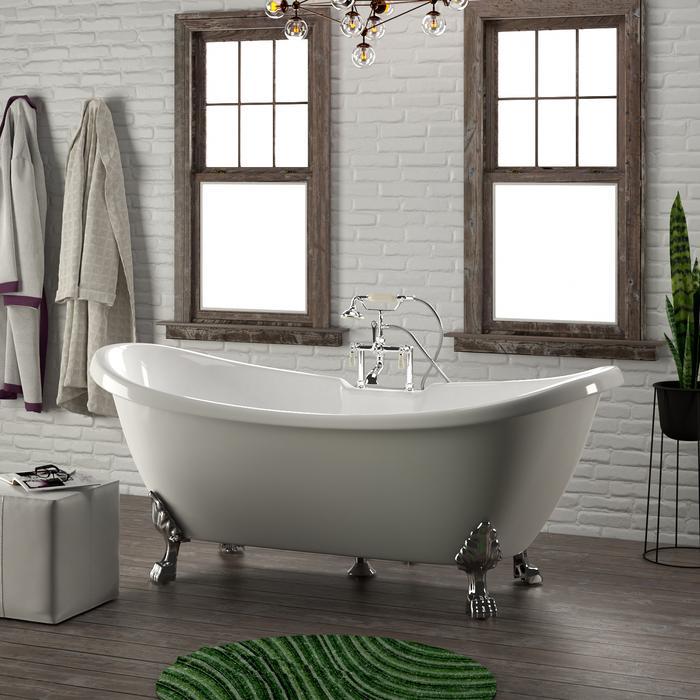 Monroe Clawfoot Tub Barclay Freestanding Bathtub