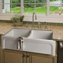 Langley Farmhouse Sink Installed