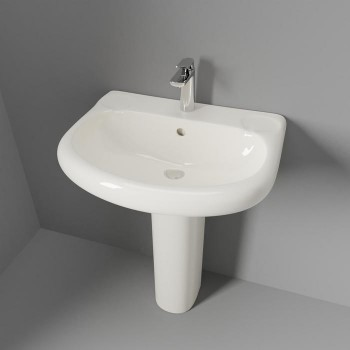 Orient Top View, Large Oval Sink