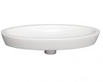 Rectangle Vessel Sink with Rectangle Basin and Deck on Both Sides