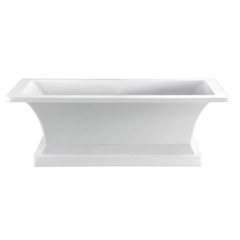 Rectangle Bath with Pedestal Base