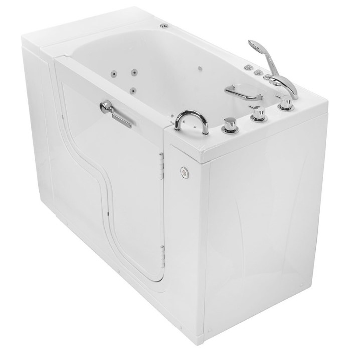 Transfer Tub Front View Showing Side Panel & Extension Panel