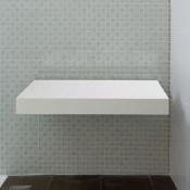 Solid Surface Shower Seat