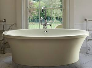 Basics Oval Freestanding Bathtub