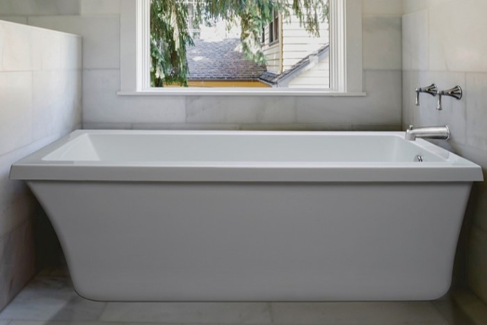 Mti Basics Mbscrfs6632 Basics Freestanding Soaking Tub