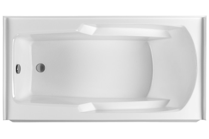 Mti Basics Mbis6030 Soaking Heated Whirlpool Amp Air Bathtub