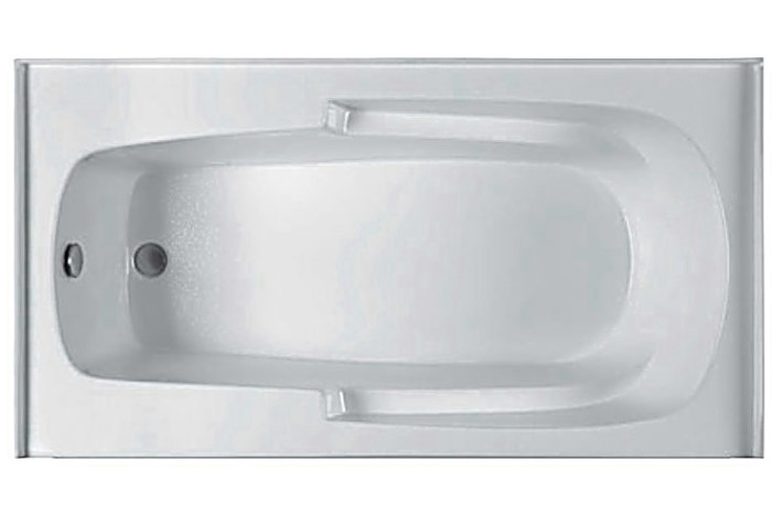 Mti Basics Mbis6032 Soaking Heated Whirlpool Amp Air Bathtub