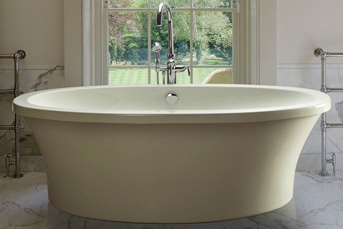 MTI Basics MBOFS6636 | Basics Freestanding Soaking Tub