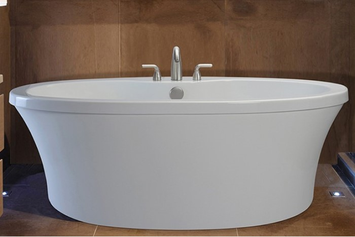 Freestanding Tub With Deck Mount Faucet Home Ideas