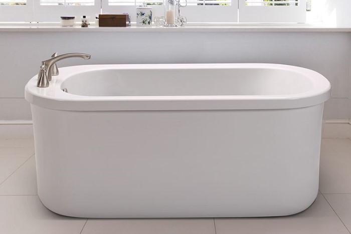 Mti Basics Mbxfsx5832a Basics Freestanding Soaking Tub