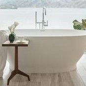 Solid Surface Freestanding Bathtub