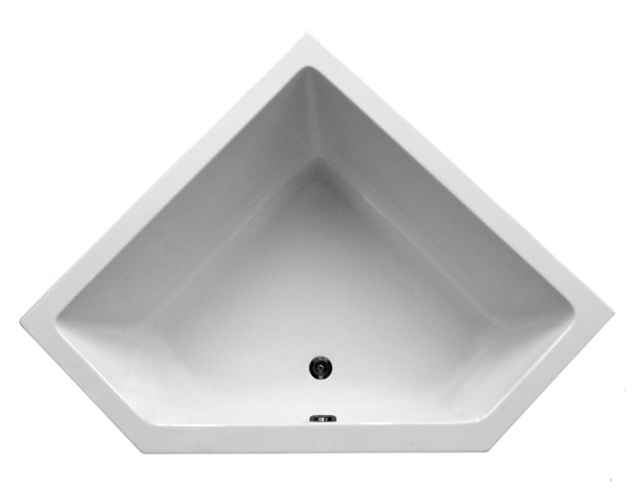 Small Modern Corner Tub