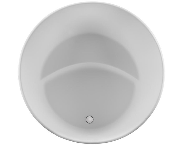 Round Tub with Cresent Seat