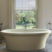Andrea Tub Series; Basics Oval Freestanding Bathtub
