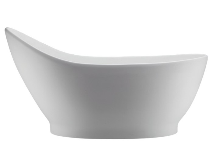 Slipper Bath with Recessed Base