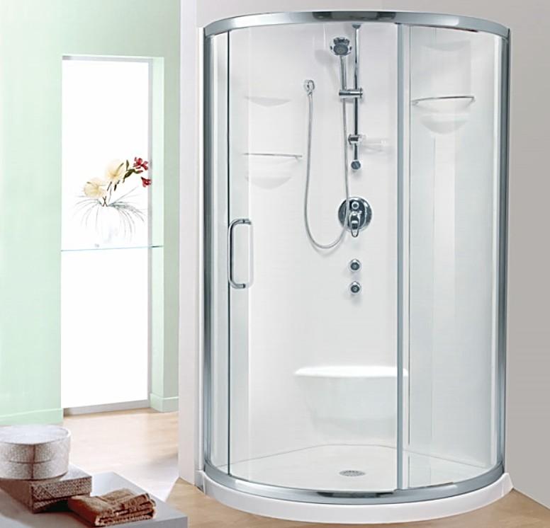 Alea Neptune Shower | Corner Shower Base & Door