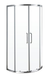 Prague Shower Door with 2 Sliding Doors