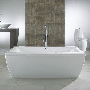 Freestanding Tubs with Whirlpool Jacuzzi Jets or Heater Tub  Jetted