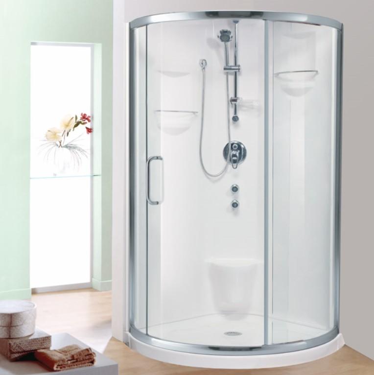 Neptune Stella Shower | Corner Shower Base & Door
