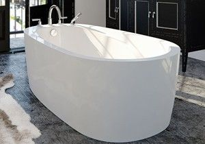 5 Foot Freestanding Air Soaking Tubs