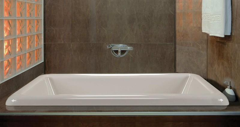 Alcove Tub | Bathtub with Skirt & Flange for 3 Wall Alcove
