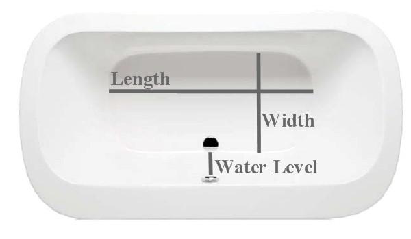Bon Inside Bathtub Dimensions