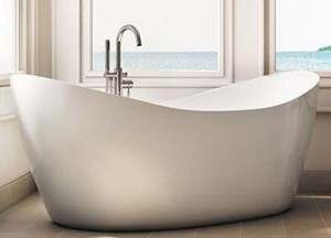 Exceptionnel Eidel Weiss Double Slipper Freestanding Tub