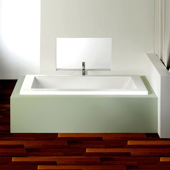 Alcove Flory De Colt 5\' Bathtub | Whirlpool, Air or Soaking